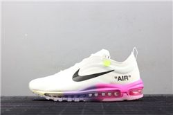 Men Off White x Nike Air Max 97 Running Shoe ...
