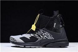 Women ACRONYM x NikeLab Air Presto Mid Sneakers AAAA 269