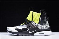 Women ACRONYM x NikeLab Air Presto Mid Sneakers AAAA 270