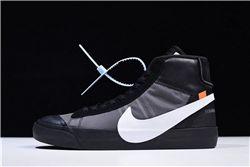 Women Off White x Nike Blazer Mid Sneakers AAAA 358