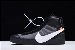 Men Off White x Nike Blazer Mid Running Shoes...