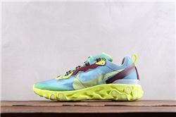 Women UNDERCOVER x Nike Upcoming React Element 87 Sneakers AAAA 273