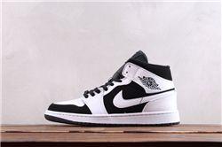 Men Air Jordan 1 Retro Mid Basketball Shoes AAAA 559