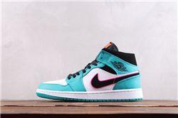 Men Air Jordan 1 Retro Mid Basketball Shoes AAAA 560