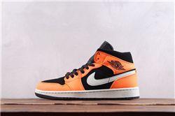 Men Air Jordan 1 Retro Mid Basketball Shoes AAAA 562