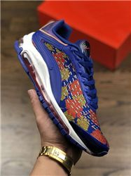 Men Nike Air Max 99 x Supreme Running Shoes A...