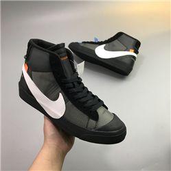 Women Off White x Nike Blazer Mid Sneakers AAAAA 367