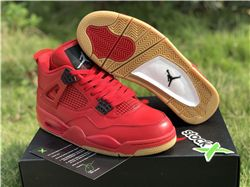 Men Air Jordan 4 Singles Day