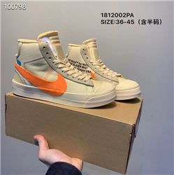 Women Off White x Nike Blazer Mid Sneakers AAA 391