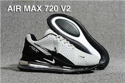 Men Nike Air Max 720 V2 Running Shoes KPU 527