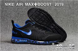 Men Nike Air Max Boost 2019 Running Shoes KPU 544