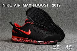 Men Nike Air Max Boost 2019 Running Shoes KPU 545
