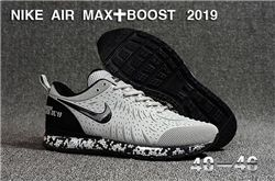 Men Nike Air Max Boost 2019 Running Shoes KPU 547