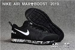 Men Nike Air Max Boost 2019 Running Shoes KPU 549