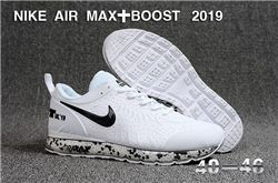 Men Nike Air Max Boost 2019 Running Shoes KPU 550
