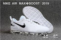 Men Nike Air Max Boost 2019 Running Shoes KPU...