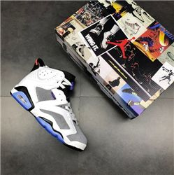 Men Basketball Shoes Air Jordan VI Rings AAA 344