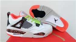 Men Air Jordan IV Hot Lava Basketball Shoes A...