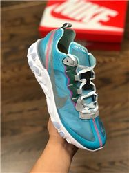 Men UNDERCOVER x Nike Upcoming React Element 87 Running Shoes AAAA 397