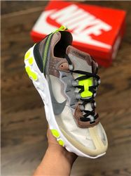 Men UNDERCOVER x Nike Upcoming React Element 87 Running Shoes AAAA 403