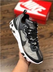 Men UNDERCOVER x Nike Upcoming React Element 87 Running Shoes AAAA 404