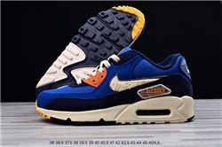 Men Nike Air Max 90 Premium SE Running Shoes ...