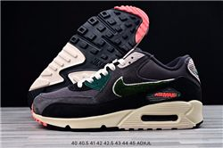 Men Nike Air Max 90 Premium SE Running Shoes AAAA 355