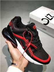 Men Nike Air Max 270 Supreme Running Shoes KP...