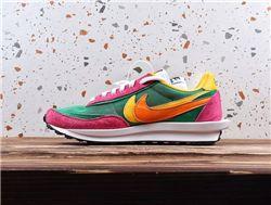 Men Sacai x Nike LVD Waffle Daybreak Running Shoes AAAA 412