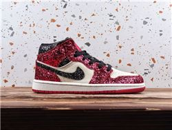 Women Air Jordan 1 Retro Mid Sneaker AAAA 507