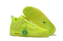Men Air Jordan 4 Flyknit Basketball Shoes 440