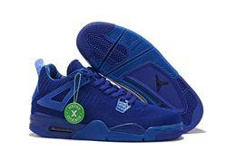 Men Air Jordan 4 Flyknit Basketball Shoes 441