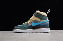 Women Air Jordan 1 Retro OG High Sneakers AAAA 529