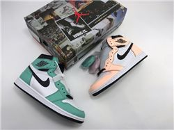 Women Air Jordan 1 Retro High Sneakers AAAAAA...