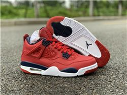 Men Air Jordan 4 SE FIBA Gym Red