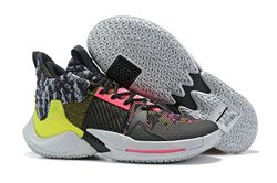 Men Jordan Why Not Zero 2 Basketball Shoes 34...