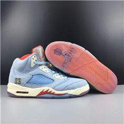 Men Trophy Room x Air Jordan 5 Ice Blu