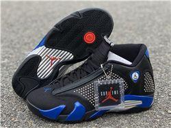 Supreme x Air Jordan 14 Black Blue