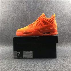 Men Air Jordan 4 Flyknit Basketball Shoes AAAA 449