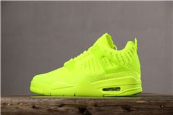Women Air Jordan 4 Flyknit Sneakers AAAA 295
