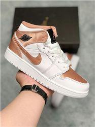 Women Sneaker Air Jordan 1 Retro AAAA 537