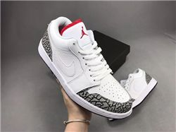 Men Air Jordan 1 Phat Low 2008 Basketball Sho...