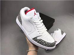 Men Air Jordan 1 Phat Low 2008 Basketball Shoes AAAA 804
