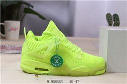 Men Air Jordan 4 Flyknit Basketball Shoes AAA 454