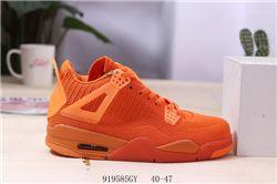 Men Air Jordan 4 Flyknit Basketball Shoes AAA 455