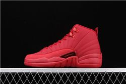 Women Air Jordan 12 Bulls Sneakers AAAAA 273