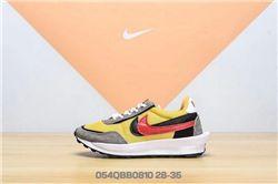 Kids Sacai x Nike LD Waffle Sneakers 357