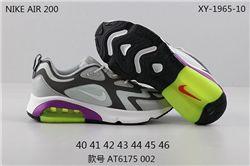 Men Nike Air Max 200 Running Shoes 486