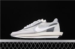 Men Sacai x Nike LVD Waffle Daybreak Running Shoes AAAA 438