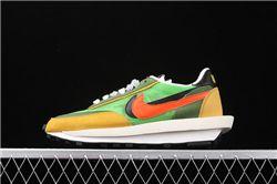 Men Sacai x Nike LVD Waffle Daybreak Running Shoes AAAA 439